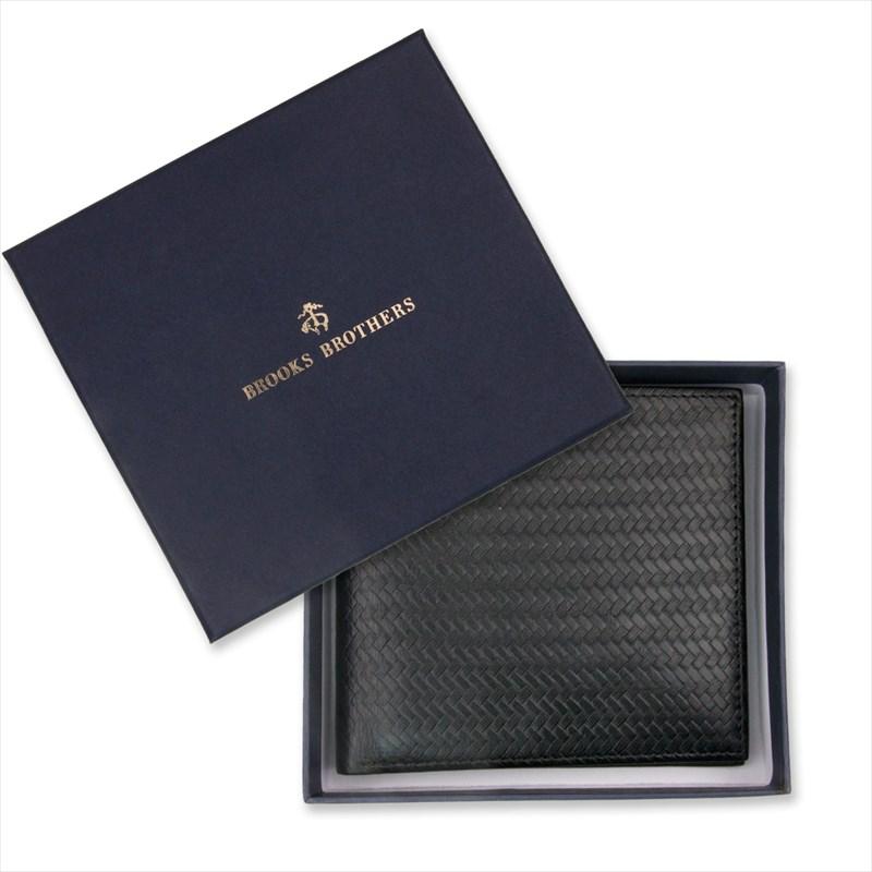 ブルックスブラザーズ メンズ 財布 ギフト プレゼント 父の日 シンプル ブルックス・ブラザーズ 二折ウォレット