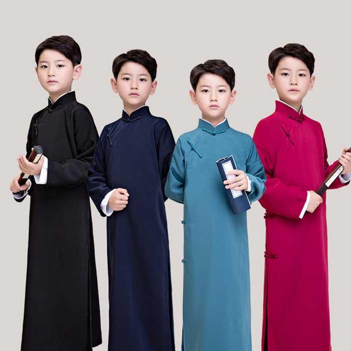 中国の伝統的な衣服 安い 長袍 チャンパオ チャイナ服 子供 子供服 子ども コスプレ コスチューム ハロウィン 中国漫才 140 中華服 予約販売品 130 中国伝統服 チャイナ風 120 150 160 中国服 チャイナボタン