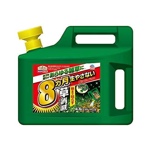 AL完売しました。 送料無料 アースガーデン 除草剤 草消滅 アースカマイラズ 4.5L 買い取り