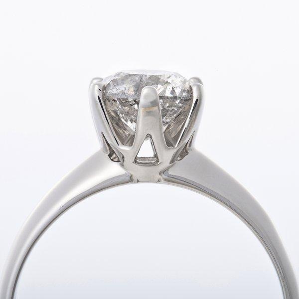 プラチナPt9001 2ctダイヤリング 指輪 19号 鑑別書付きc3lF1TKJ