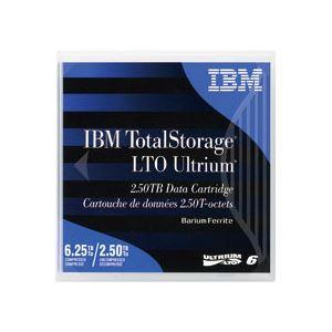 記録メディア 磁気テープ 激安セール LTO Ultrium IBM LTO 6.25TB 00V7590 Ultrium6 データカートリッジ スピード対応 全国送料無料 2.5TB 1巻