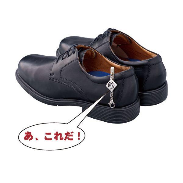 日本製 法事用家紋入靴止め 靴べらセット 巾着袋付 丸に抱き茗荷 みょうがkutuberaset 271TK3lFJc