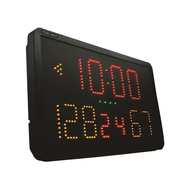 得点・時間+スポーツテスト対応の電子式タイマー・得点版 TOEI LIGHT(トーエイライト) デジタルスポーツカウンター B4001