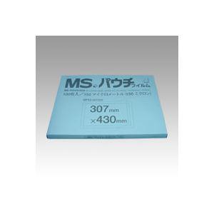 激安☆超特価 明光商会 MSパウチフィルム 通信販売 MP15-307430 100枚