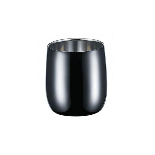 2重 ロックカップ/タンブラー 【250ml】 日本製 ステンレス Made in TSUBAME 認定品 『ブリリアント・ブラック』:雑貨のお店 ザッカル