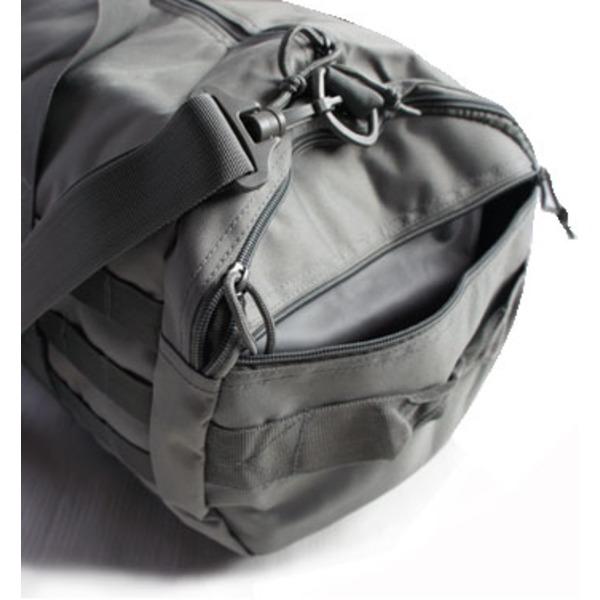 アメリカ軍 2WAYボストンバッグ 鞄42 Lモール対応 ウレタン素材入り BH055YN オリーブレプリカ6gYybf7