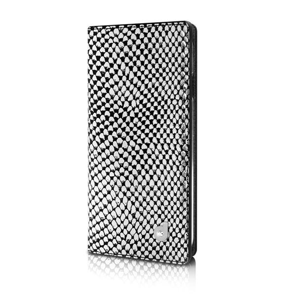 タイムセール 独特のデザインが楽しめるケース 永遠の定番 dreamplus iPhone6 シークレットポケットお財布ダイアリーケース シルバー