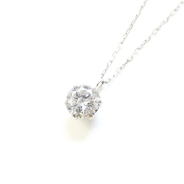 造幣局刻印 純プラチナ 0.5ct ダイヤモンドペンダント【代引不可】