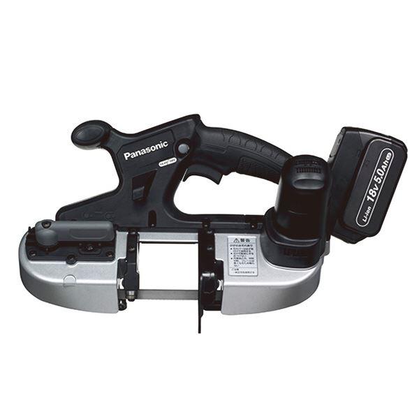 人気沸騰ブラドン Panasonic(パナソニック) EZ45A5LJ2G-B 18V5.0Ah充電バンドソー:雑貨のお店 ザッカル-DIY・工具