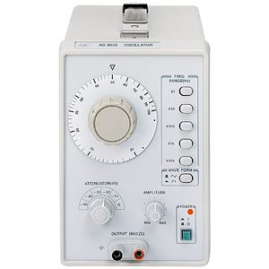 想像を超えての A&D(エーアンドデイ)電子計測機器 オシレーター(1MHz)AD-8626【】:雑貨のお店 ザッカル-DIY・工具