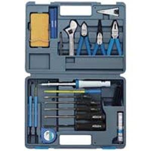 コンパクトにまとめた工具一式 事務用品 まとめお得セット (業務用2セット) ホーザン 工具セット S-22