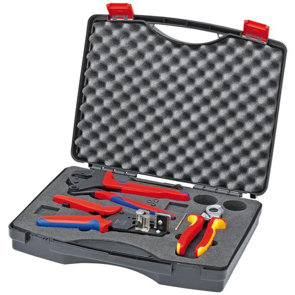 トミカチョウ KNIPEX(クニペックス)9791-01 太陽光発電用工具セット:雑貨のお店 ザッカル-DIY・工具