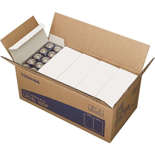 豪奢な 東芝(家電) アルカリ乾電池 単2形 アルカリ乾電池 100P LR14L LR14L 100P, 花*花Gluck:59def1e5 --- maalem-group.com