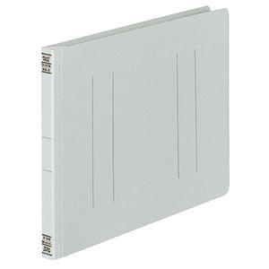 (まとめ) コクヨ フラットファイルV(樹脂製とじ具) B5ヨコ 150枚収容 背幅18mm グレー フ-V16M 1パック(10冊) 【×5セット】:雑貨のお店 ザッカル