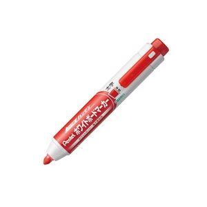 サインペン マーキングペン ホワイトボードマーカー まとめ 大放出セール 新作アイテム毎日更新 ぺんてる ハンディWBマーカーMWXN6M-B平芯太字赤 業務用200セット