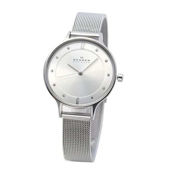 SKAGEN(スカーゲン) SKW2149 レディス腕時計 ラインストーンインデックス メッシュストラップ【代引不可】