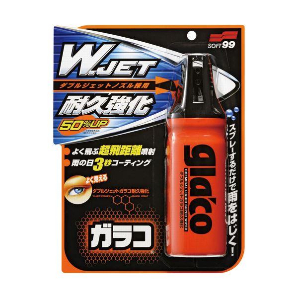 (まとめ) ソフト99 ダブルジェットガラコ耐久強化 180ml G-64 1本 【×10セット】