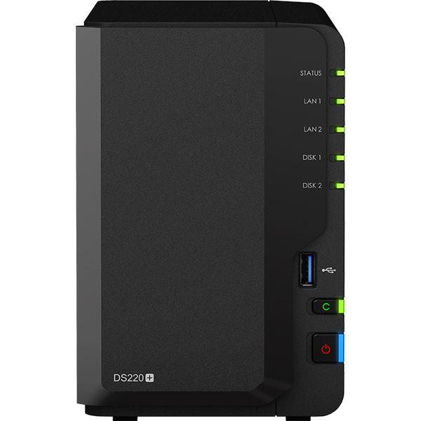 【2018A/W新作★送料無料】 Synology DiskStation DS220+ デュアルコアCPU搭載多機能パーソナルクラウド2ベイNASキット DS220+, SOL 43fd9d30