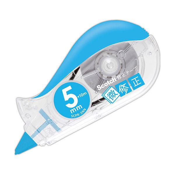 詰替タイプ テープ切れがよく 文字間の小さな1文字でも的確に消せる まとめ 3M スコッチ 修正テープ メーカー公式 SCPD-5NN ×30セット 1個 微修正交換式 本体 2020A W新作送料無料 5mm幅×10m