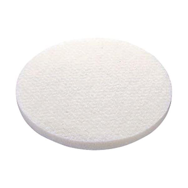 床面洗浄用のフロアパッドです。 (まとめ)山崎産業(ポリシャー用パッド)51ラインフロアパッド9白(磨き用) E-17-9-W 1パック(5枚)【×3セット】