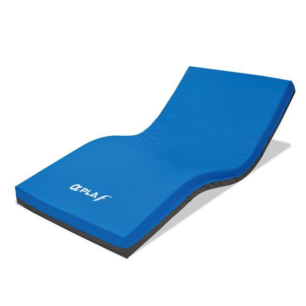 体圧分散式 マットレス/寝具 【通気カバータイプ 幅83cm ショート】 日本製 MB-FA3S 『アルファプラF』 〔病院 施設〕【代引不可】