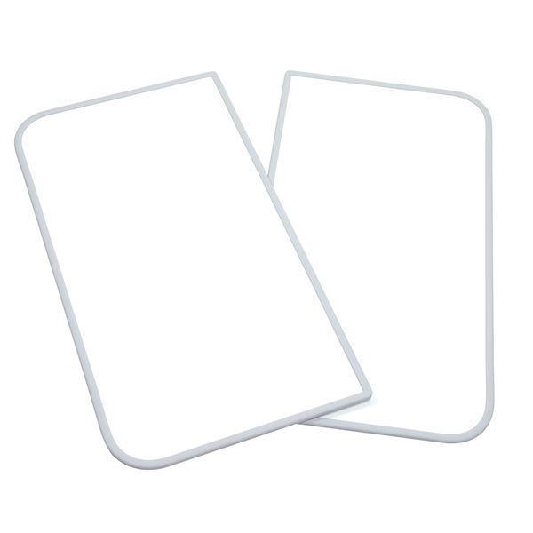 東プレ 風呂ふた 組み合わせ式 センセーション(2枚割) 70×100cm ホワイト/ホワイト U10