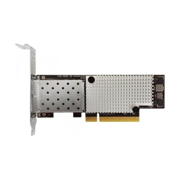 ASUSTOR SFP インターフェース デュアルポート 10GBASE-SFP SR LRPCIe 3.0 x8 NIC 光ファイバーネットワークインターフェースカード 2年保証 AS-S10G 定番人気,2020