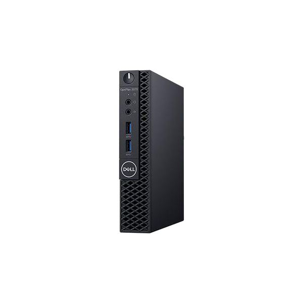 OptiPlex 3070 Micro(Win10Pro64bit/4GB/Corei5-9500T/500GB/No-Drive/VGA/1年保守/Personal 2019)