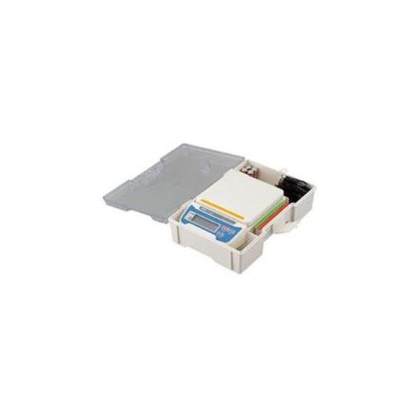 電子てんびん ステンレス皿 収納ケース 3色カラー 100%品質保証 HT-500-JAC 買収 ネームホルダー付 バー