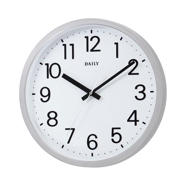 ■ポイント12.5倍■(まとめ) リズム時計 リズム時計 フラットフェイスDN 4KGA06DN19【×5セット】