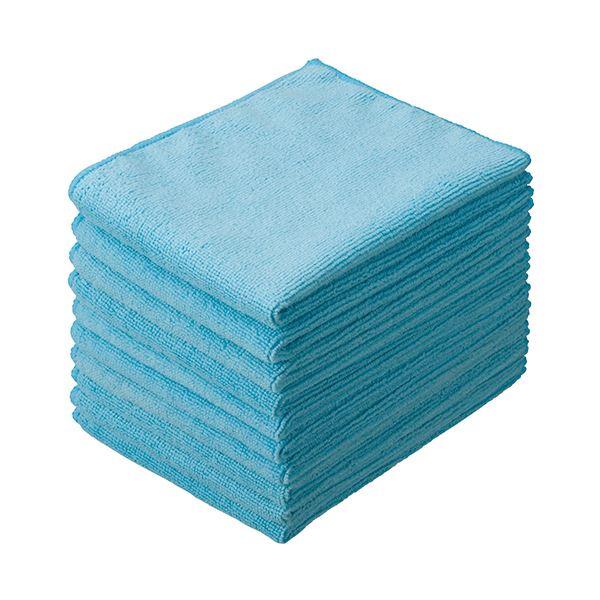 掃除用品 拭き掃除用品 クロス まとめ テラモト マイクロファイバークロス CE-481-001-0 ×10セット メーカー直送 本物◆ 1パック 大判 10枚