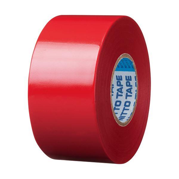 <title>電気絶縁性に優れたビニールテープ まとめ ニトムズ ビニールテープS 38mm×20m 直営店 赤 J3431 1巻 ×50セット</title>