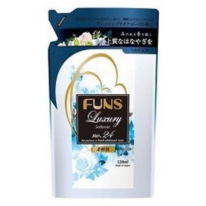第一石鹸 ファンスラグジュアリーNo.24柔軟剤詰替用520ml ポイントアップ 休み 5 税込 爆売り 以上で送料無料 400円