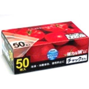 ケミカルジャパン チャックさん 冷凍保存袋 ポイントアップ 5 400円 BOX 好評受付中 税込 以上で送料無料 50枚 ストアー 中サイズ