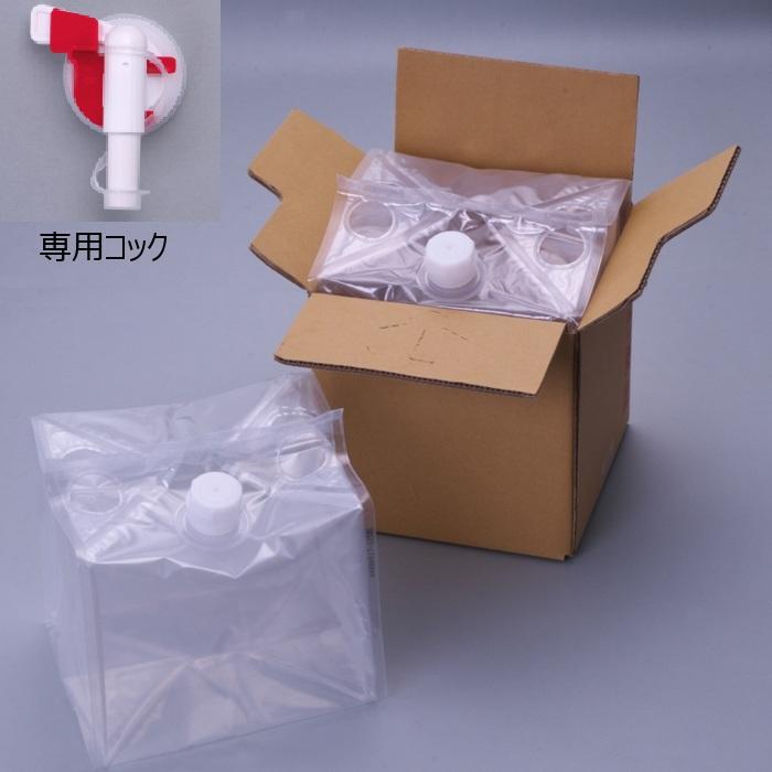 フィルム液体容器 「Zテーナー」 内容器+専用コック+段ボール 20L 50個セット