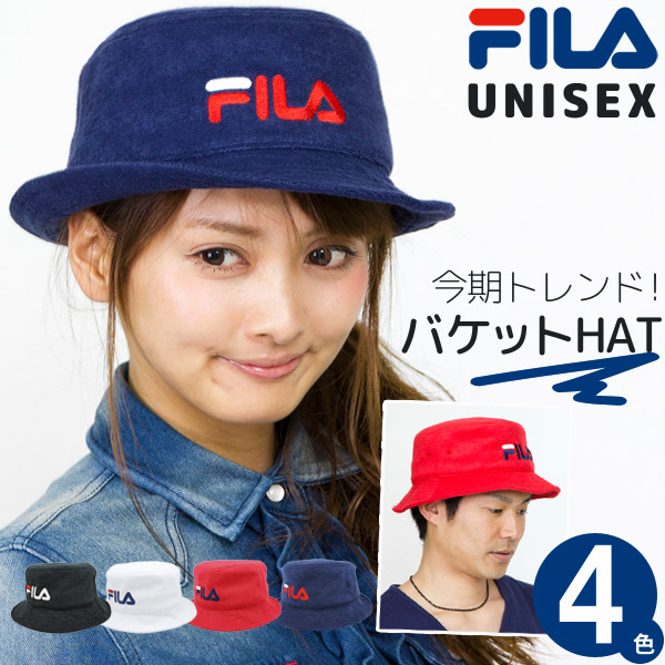 67050289e113 Bucket Hat women s hats mens HAT spring summer fall winter FILA sports  outdoors logo travel unisex folding compact FILA (FIRA) pyleva bucket Hat