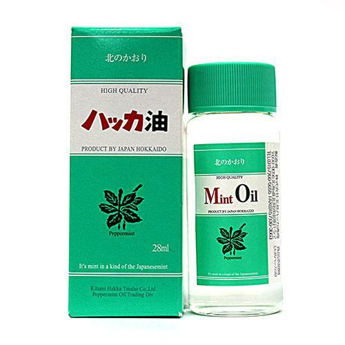 Kitami Peppermint trade peppermint oil bottle 28 ml