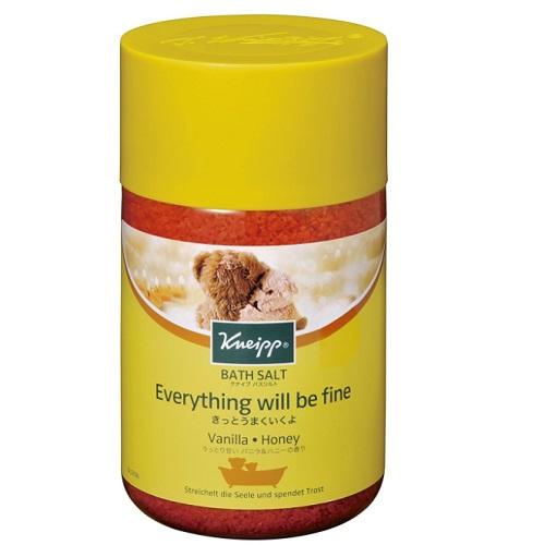 ■ 入浴剤 クナイプ 完全送料無料 内祝い バスソルト ハニーの香り 850g バニラ