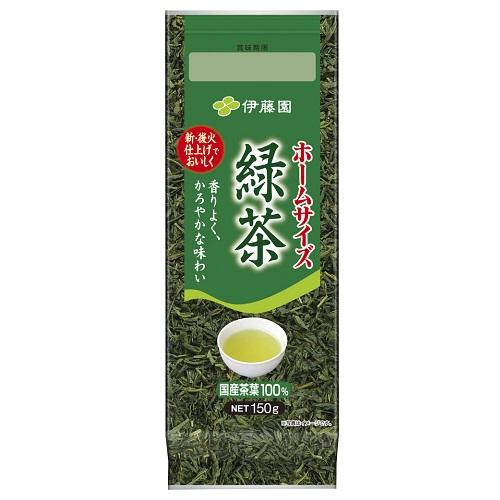 ■ 茶葉 お歳暮 百貨店 伊藤園 ホームサイズ緑茶 150g