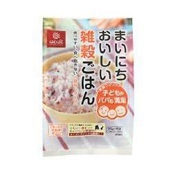 ■ いつでも送料無料 玄米 大麦 豆なし 雑穀ごはん 正規認証品 新規格 25g×6袋 はくばく まいにちおいしい