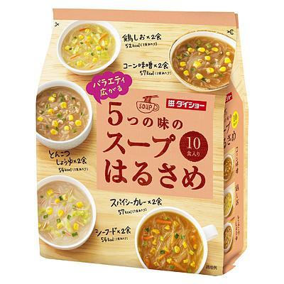[ダイショー]5つの味のスープはるさめバラエティ 10食入