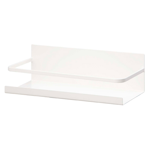 トラスト ■ おトク キッチン用品 収納 山崎実業 プレート ホワイト マグネットスパイスラック