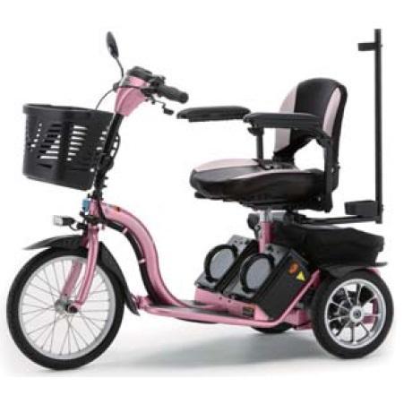 ■代引き不可■[フランスベッド]リハテック 電動三輪車いす スマートパル (S637PI)同梱不可キャンセル不可[送料無料]
