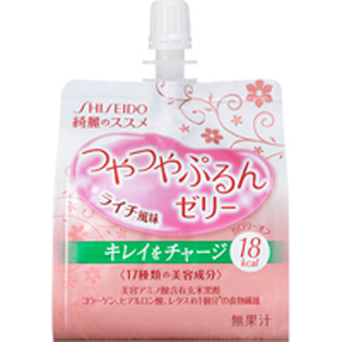 [Shiseido, of beautiful glossy puru's jelly lychee flavor