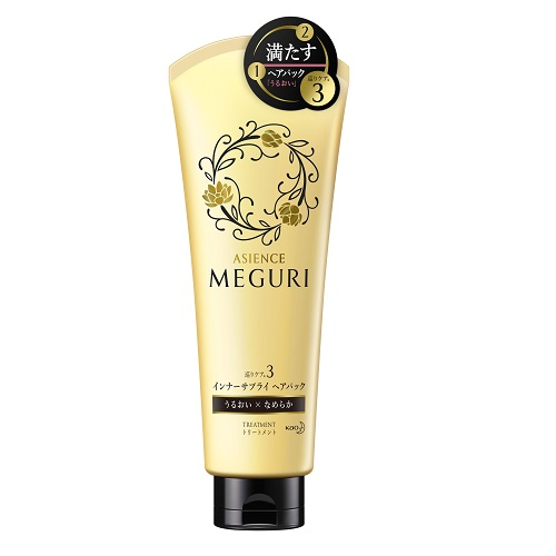[Kao] merit's megry (ASIENCE MEGURI) inner supply heat pack moist smooth finish 220 g / visiting care 3 / treatments and Oriental beauty