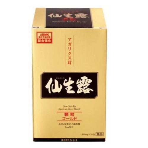 仙生露 顆粒ゴールド 1800mg×30包[送料無料]/健康食品/国産アガリクス茸/スティックタイプ/細粒