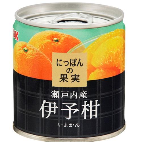 ■/缶詰/果物/いよかん/日本の果実 [国分]にっぽんの果実 瀬戸内産 伊予柑 190g