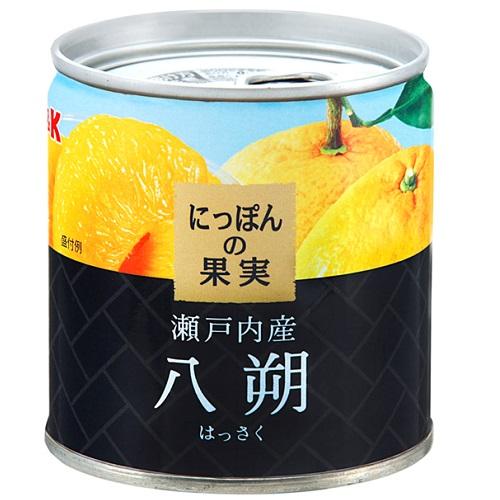 ■/缶詰/果物/はっさく/日本の果実 [国分]にっぽんの果実 瀬戸内産 八朔 190g