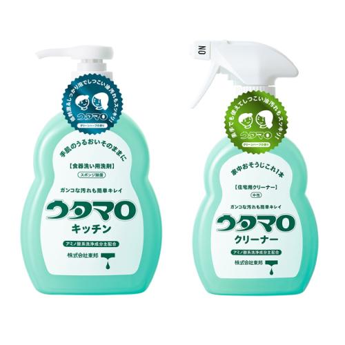 ■ 洗剤 台所 高品質新品 東邦 キッチン本体+クリーナー本体 お掃除セット セール ウタマロ