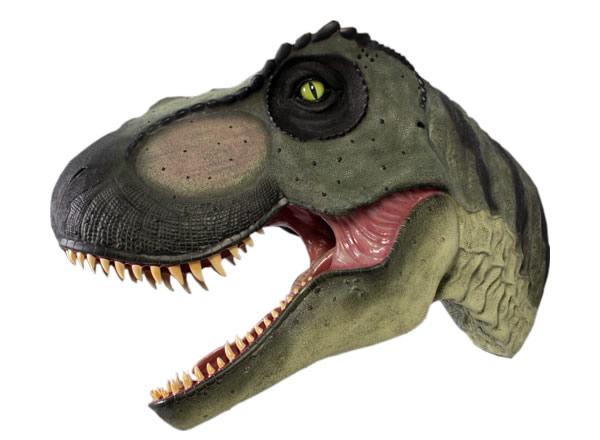 巨大T-Rexの頭部 / Giant T-Rex HeadFRP 耐水 軽い 強い 屋外用塗装 ガーデンファニチャー 置物 インテリア オブジェ 送料無料